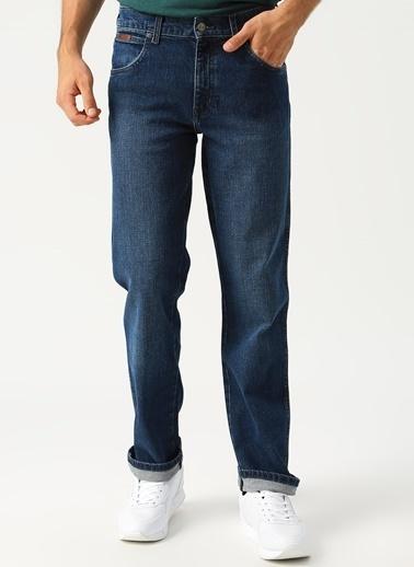 Lee&Wrangler Lee & Wrangler Regular Fit Laci Denim Pantolon Mavi